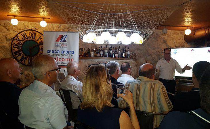"""כנס רבעון 3 של לשכת המסחר ישראל-אנגולה בהשתתפות מנכ""""ל אשרא, מר צחי מלאך"""