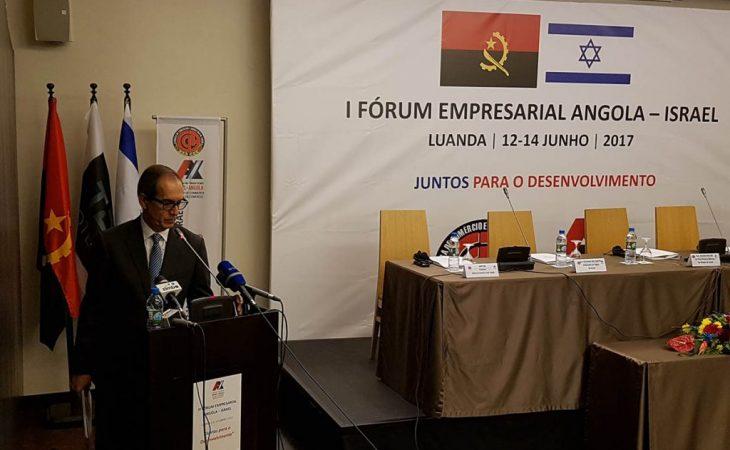 Bem sucedida viagem Câmara de Comércio de Angola, Luanda de Angola Israel