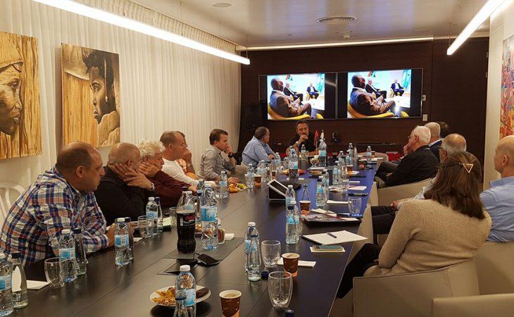 כנס לשכה ואסיפה כללית של לשכת המסחר ישראל אנגולה לפתיחת שנת 2018