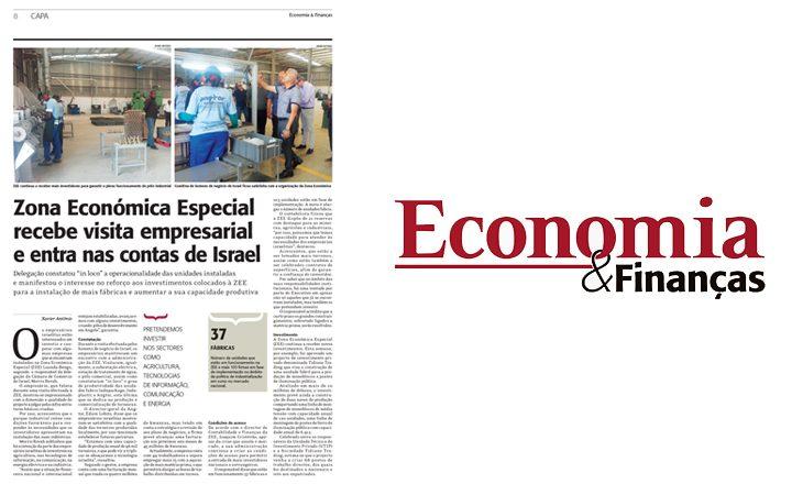 Economia & Financas – Zona Económica Especial recebe visita empresarial e entra nas contas de Israel